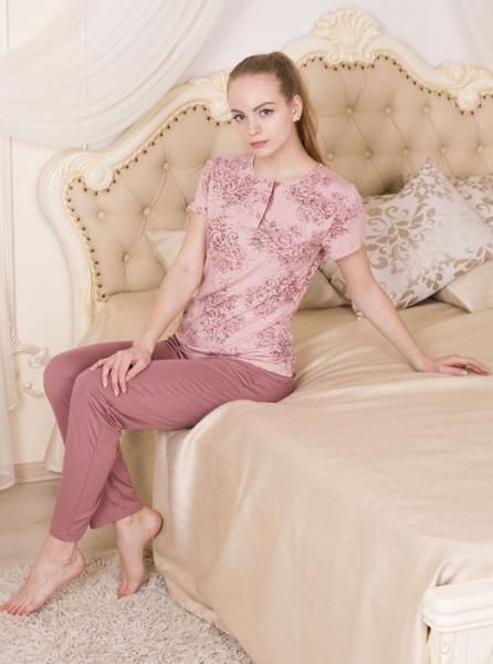 Фото  Роскошная пижама Rose garden