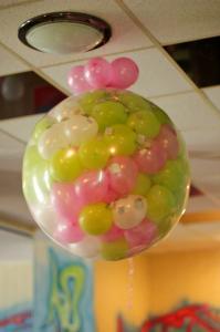 Фото Композиции из шаров  шар сюрприз (без конфетти )