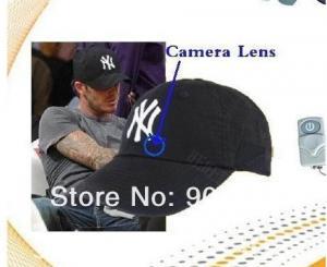 Фото Шпионская мини видеокамера Шпионская бейсболка