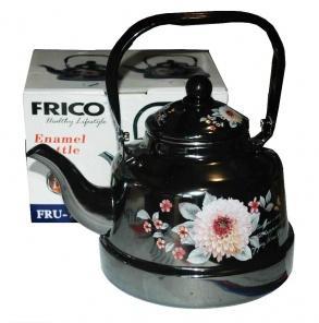 Фото Чайники Чайник эмалированный FRICO на 1,1 литра. FRU-789