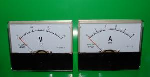 Фото Цифровые и измерительные приборы, устройства Вольтметр 30 V + Амперметр 5 A комплект под блок питания