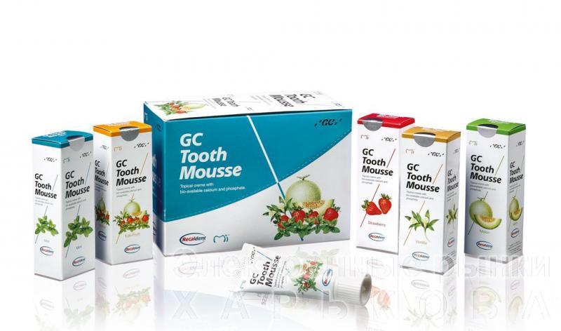GC Tooth Mousse (Тусс Мусс - гель для восстановления зубной эмали)