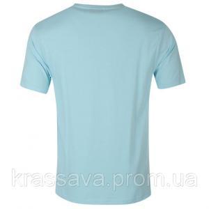 Фото Мужская футболка, майка, поло Футболка мужская Slazenger, оригинал, голубая,  M/48