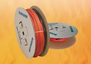 Фото КАТАЛОГ ТОВАРОВ, Теплый пол Fenix (Чехия) Тонкий кабель Fenix (Чехия) ADSV 10 Вт/м для укладки под плитку, D=4 мм, питающий провод 3 м.