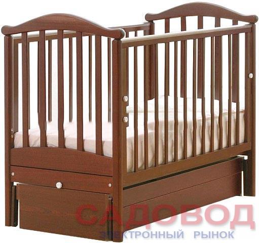Детская кроватка Гандылян Людмила (маятник универсальный) 120x60 см