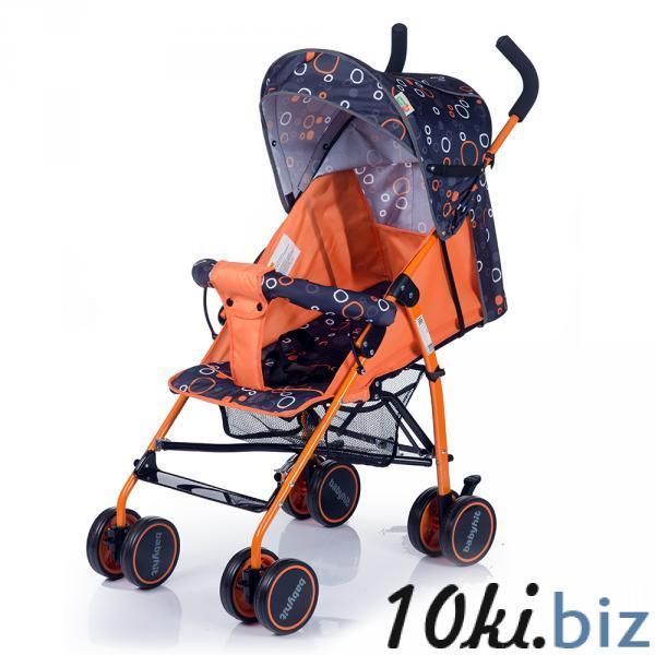 Коляска DANDY (Черно-оранжевая) Babyhit