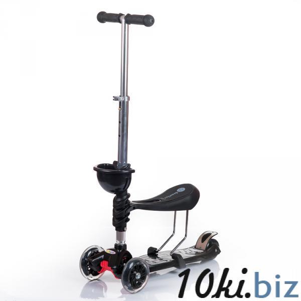 Самокат ScooterOK Tolocar (черный) Babyhit