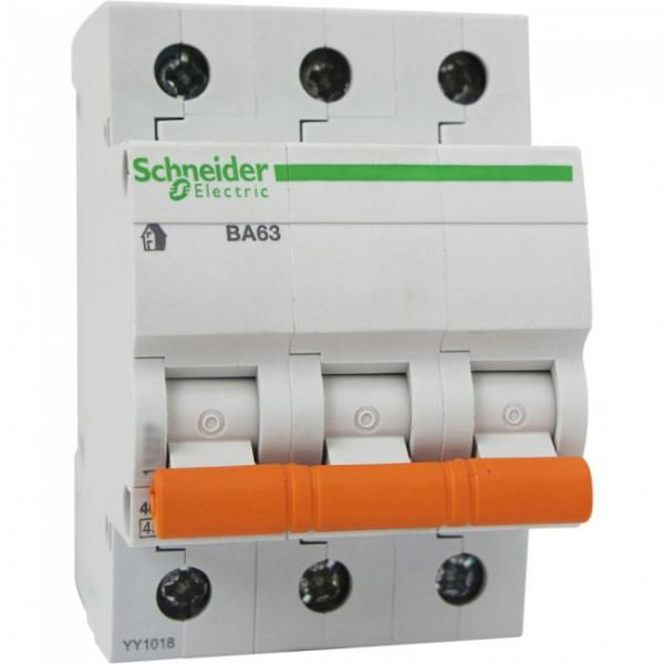 Фото Автоматические выключатели Автоматический выключатель ВА63 трехполюсный 25А