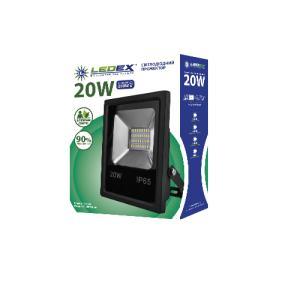 Фото ПРОЖЕКТОРЫ Светодиодный Прожектор SMD LEDEX 20W Slim 6500k