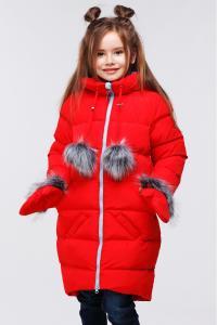 Фото Дети, Верхняя одежда зима Полупальто детское Мелитта