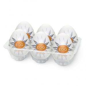 Фото Интимные товары, Мастурбаторы, искусственные вагины Мастурбатор Tenga Egg Shiny (Cолнечный)