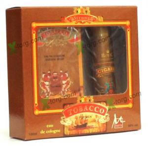 Набор подарочный M Parfum «TOBACCO» (мужской, одеколон+дезодорант-спрей, Украина)