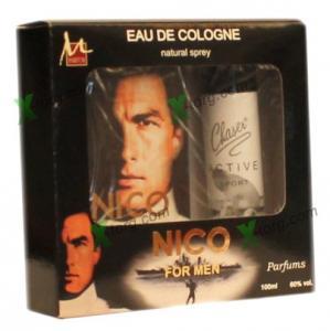 Набор подарочный «NICO» (мужской, M Parfum, одеколон 100 мл + дезодорант 75 мл, Украина) срок годности на упаковке дезодоранты в ассортименте
