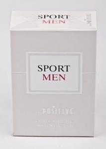 Вода туалетная Art positive «Sport men» (90 мл, мужская, Россия)