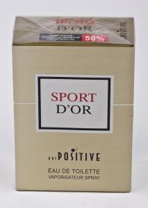 Вода туалетная Art positive «Sport d'or» (90 мл, мужская, Россия)