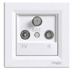 Розетка TV/R/SAT концевая (1dB)