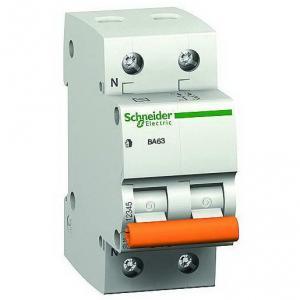 Автоматический выключатель ВА63 один полюс+ нейтраль 32А