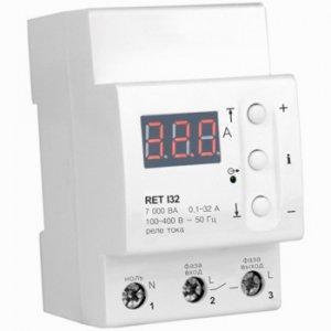 Фото Реле напряжения и тока Реле контроля тока RET I40 Zubr