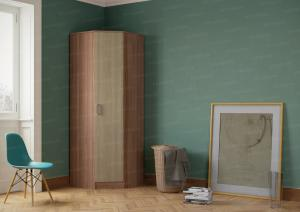 Фото Розница, Шкафы Шкаф угловой с одной дверью