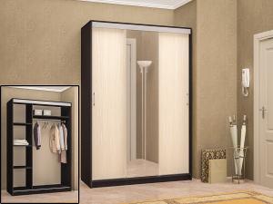 Фото Розница, Шкафы Шкаф-купе трех-створчатый с зеркалом 1,65м