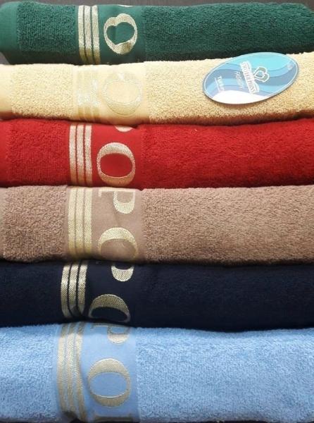 Фото ПОЛОТЕНЦА, Полотенца банные 70х140см (упаковка 6шт.) Полотенце махровое  E710 Sport
