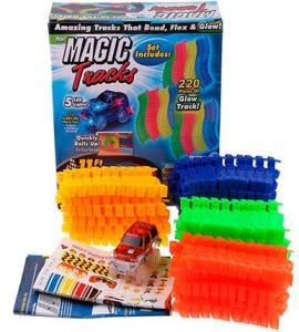 Фото Товары для детей Magic TRACKS - Гибкий и светящийся гононочный трек