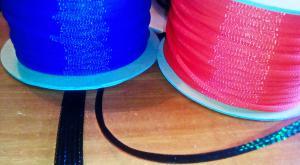 Фото Оплітка, хомути, інструмент Techflex 0,25 Кабельна оплітка зміїна шкіра 0,32-1,12 см