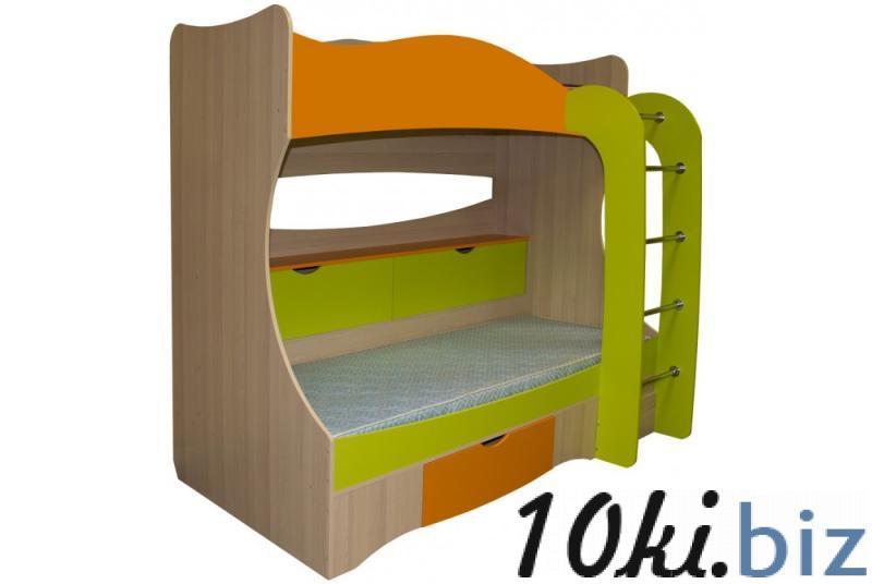 Кровать двухъярусная Почемучка (Премиум)
