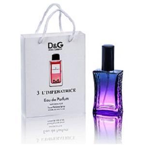 Фото Парфюмы в подарочной упаковке. 50мл, Женские Dolce Gabbana 3 L`Imperatrice в подарочной упаковке 50 ml