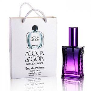 Фото Парфюмы в подарочной упаковке. 50мл, Женские Giorgio Armani Acqua Di Gioia в подарочной упаковке 50 ml