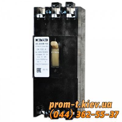 Фото Автоматические аппараты для защиты от перегрузок и короткого замыкания электрической цепи, Автоматический выключатель серии АЕ Автомат АЕ-2056