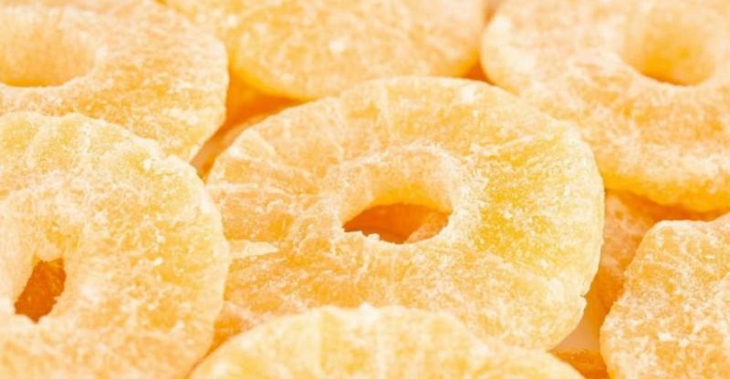 Фото Сухофрукты и цукаты Купить цукаты из ананаса оптом