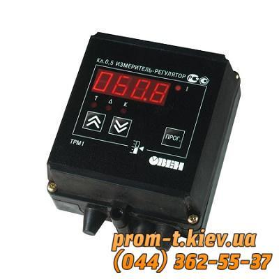 Фото Контрольно-измерительные приборы и автоматика, Клещи, тестеры, мультиметры, указатели напряжения, мегаомметры, амперметры, вольтметры Измеритель-регулятор двухканальный ОВЕН 2ТРМ1