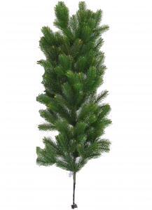 Фото Сырье для производства искусственных елок, Ветки (лапник) Ветка Северное Сияние (30см, 60см) 100%PE