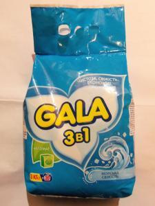 стиральный порошок универсальный GALA, 3 кг.