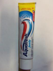 зубная паста AQUAFRESH, 100 мл.