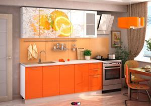 Кухня Апельсин 2,0м (1,6м, 1,8м) - (Стендмебель)