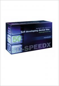 SD-SPEEDX, самопроявляющаяся стоматологическая рентгеновская пленка