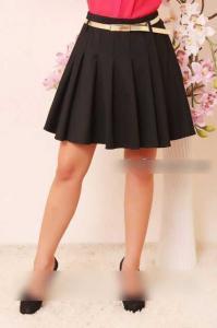 Фото Юбки, шорты Модная женская юбка в складки