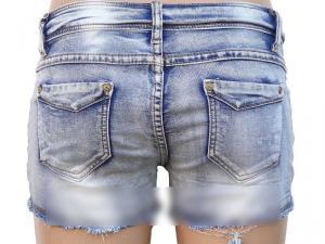 Фото Юбки, шорты Молодежные джинсовые шорты