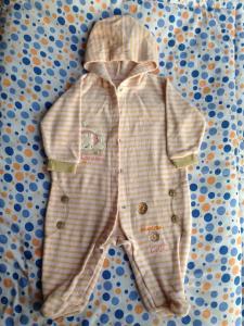 Фото Одежда для девочек, Размер 62 теплый человечик