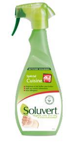 Фото  Экологическое обезжиривающее средство для кухни Soluvert (0,5 л.)
