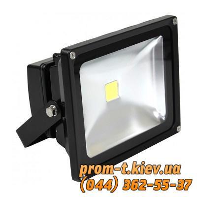 Фото Светильники, прожекторы, светодиодные, уличные, потолочные, подвесные, промышленные, точечные, Светильник Eurolamp Светильник светодиодный (прожектор) черный COB 50W Eurolamp