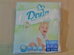 Подгузники детские DADA 5, 44 штуки., 15-25 кг.
