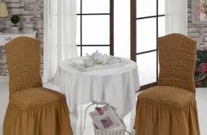 Фото Чехлы для мягкой мебели Чехлы для стульев (6 шт в упаковке)