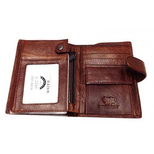 Фото Мужские кошельки, Мужские бумажники Бумажник мужской Water Lily Aртикул 6822 D