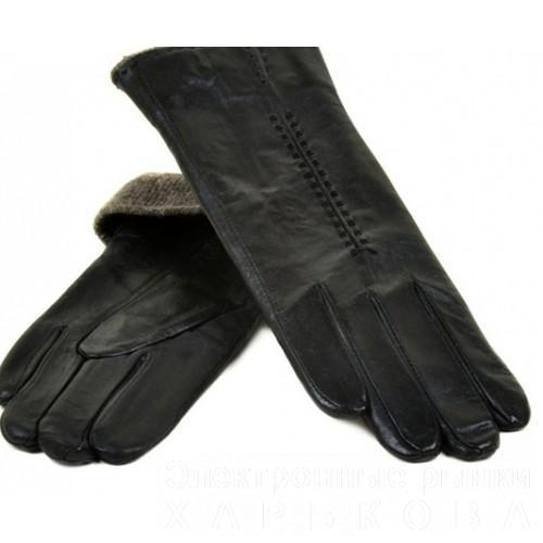 Женские перчатки Мари Classic подкладка шерсть Артикул F-24-8 №01