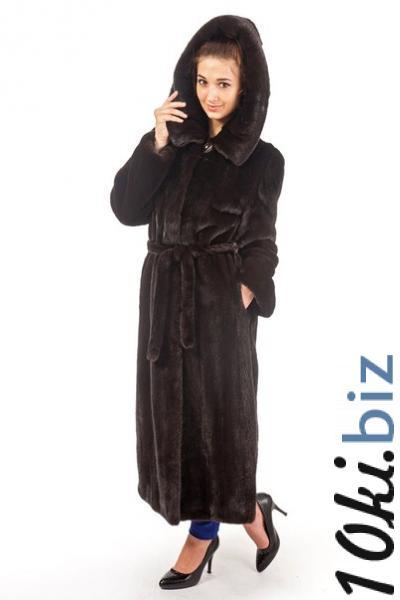 Норка Blacknafa пальто,капюшон