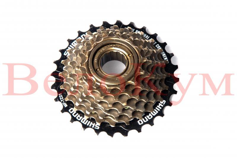 Фото ТРАНСМІСІЯ, Трищотки Shimano MF-TZ21 7-Speed Freewheel