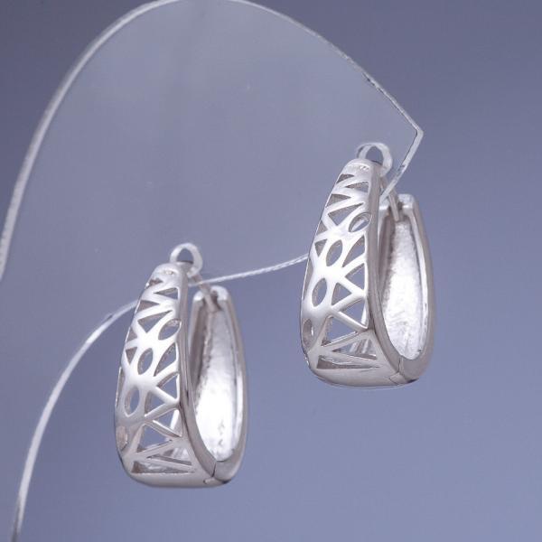 Фото Медицинское Золото Хuping jewelry (Хюпинг), Серьги xuping jewelry (Хьюпинг) Серьги Xuping пирамидка цвет металла